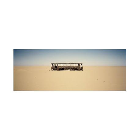 Sergio De Arrola - Burned bus, 2016