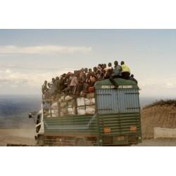 Sergio De Arrola - Road workers Ι (Tanzania), 2016